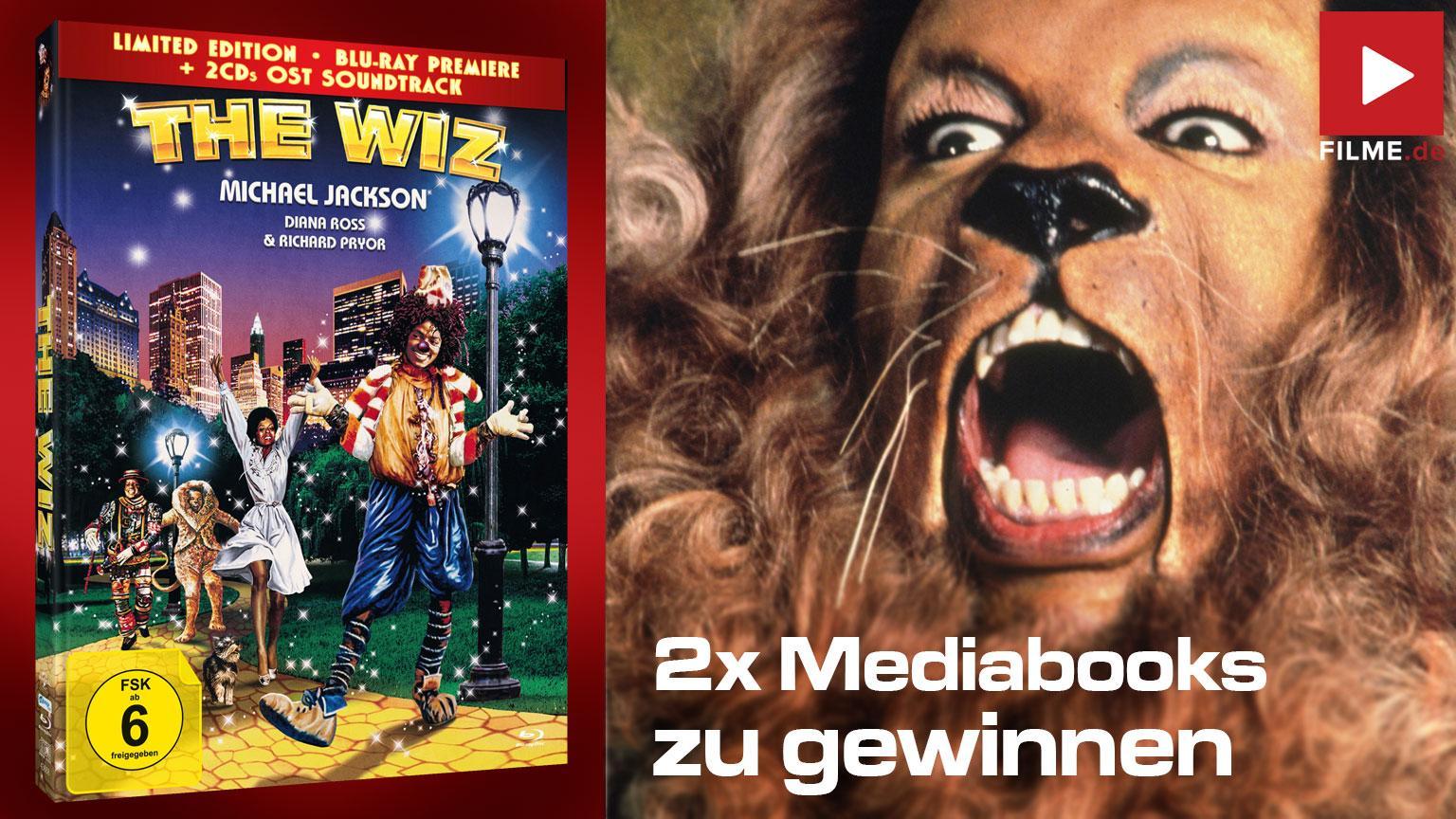 The Wiz Gewinnspiel Artikelbild Mediabook