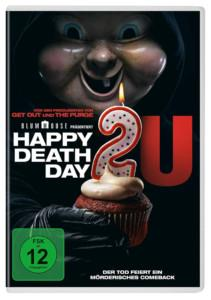 Happy Deathday Review DVD Cover