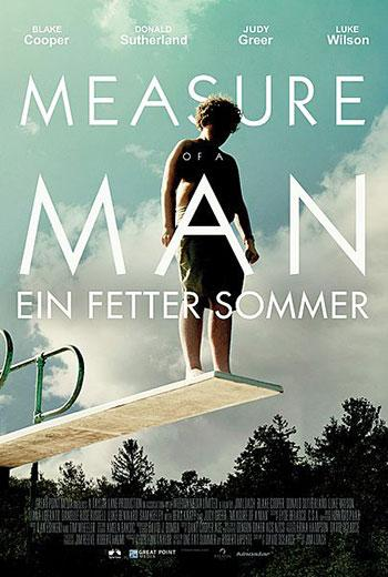 MEASURE OF A MAN Kino Plakat