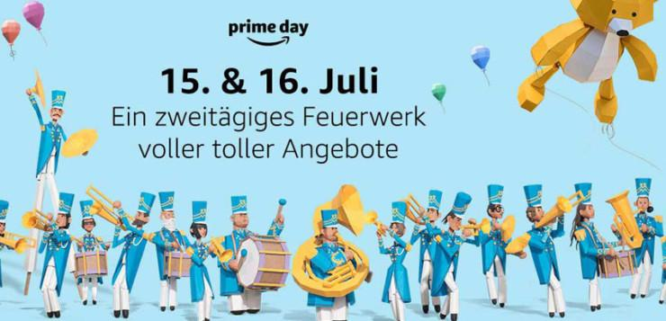 Amazon.de: Prime Day am 15. und 16. Juli 2019
