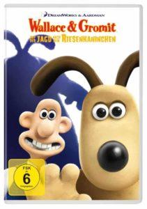 Wallace Riesenkaninchen Review DVD Cover