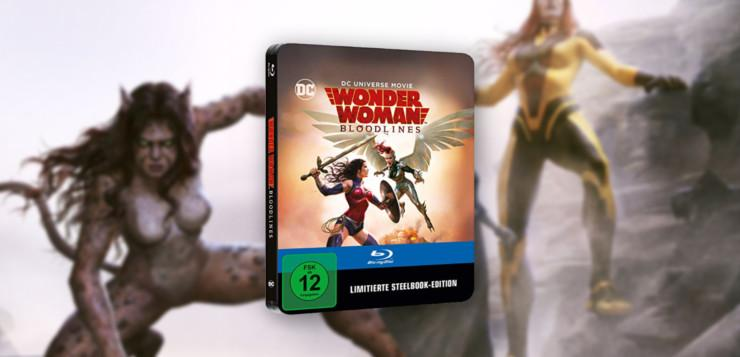 Wonder Woman Bloodlines Steelbook