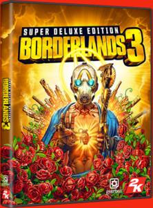Borderlands 3 Super Deluxe Edition Cover