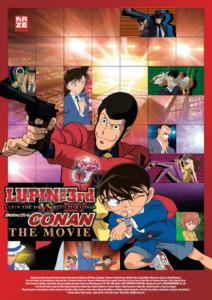 Lupin the 3rd vs Detektiv Conan Review Poster