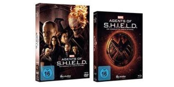 Marvel's Agents of S.H.I.E.L.D. Serie Staffel 4 DVD Blu-ray