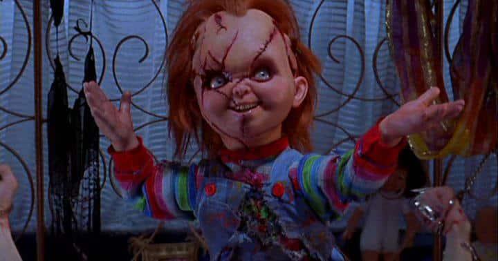 Chucky und seine Braut Hartbox review Szenenbild