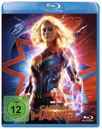 Captain Marvel Blu-ray Review Cover
