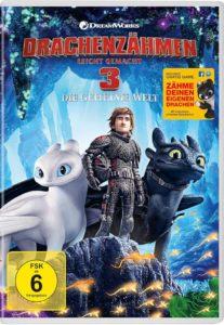 Drachenzaehmen leicht gemacht 3 UHDReview DVD Cover