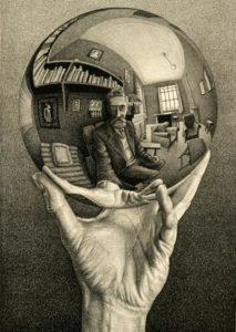 Escher News Poster