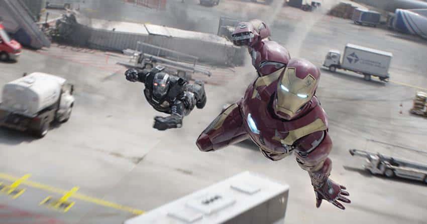 First Avenger Civil War Szenenbild