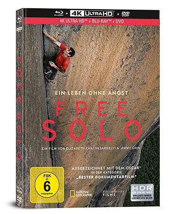 Free Solo (Mediabook) - Blu-ray Review Cover