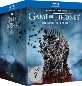 Game of Thrones 1-8 Digipak Cover