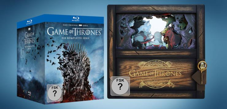 Game of Thrones Limited Collector's Edition – Die komplette Serie (Staffeln 1-8) Artikelbild