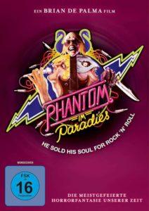 Phantom im Paradise Review DVD Cover