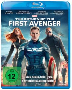 Return of first Avengers Review bd Cover