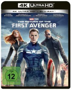 Return of first Avengers Review UHD Cover