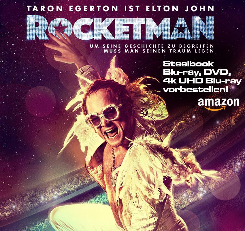 Rocketman Steelbook vorbestellen anzeige Blu-ray DVD