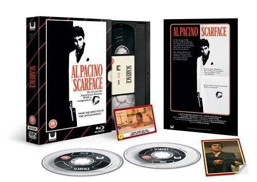 Scarface VHS Edition Blu-ray Review Box