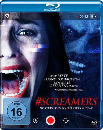 Screamers - Hörst Du den Schrei, ist es zu spät - Blu-ray Review Cover