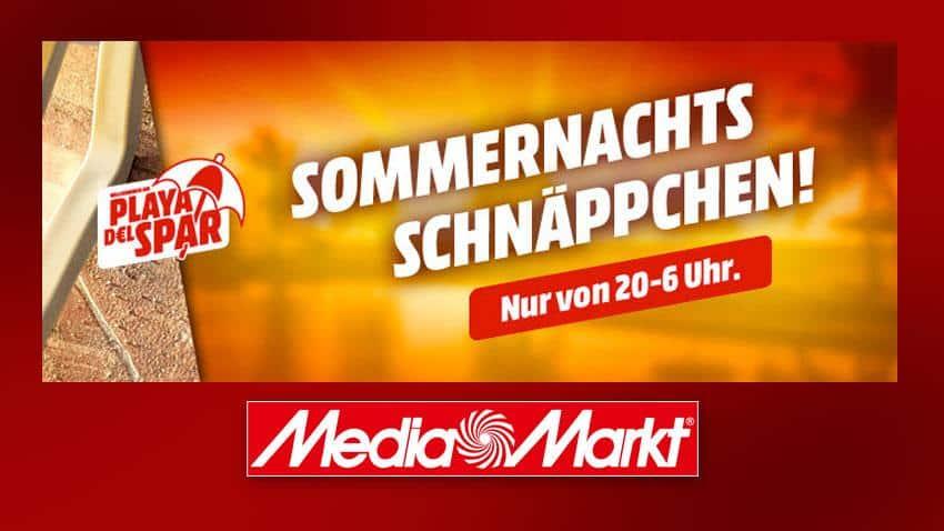 Sommernachts Schnäppchen Sturm der Liege! MediaMarkt Angebote Artikelbild