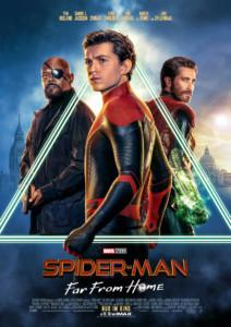 Spiderman Far From Home Kinoreview Plakat