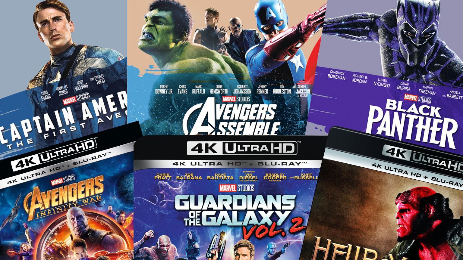 Zavvi.de Deal 3 Sparaktionen online Marvel, 4K UHD, 3D Blu-ray Artikelbild