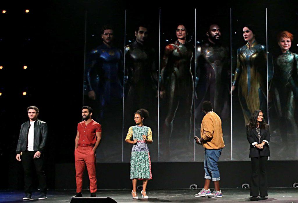 The Eternals Bühnenpräsentation