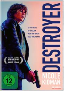Destroyer Review DVD Cover