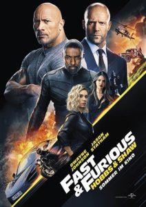 FF Hobbs Shaw Kino Plakat