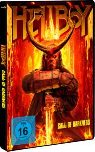 Hellboy –Call of Darkness Review DVD Cover