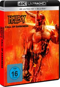 Hellboy –Call of Darkness Review UHD Cover