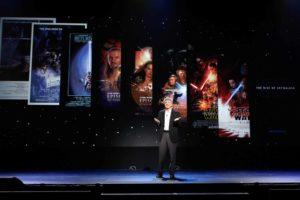Disney Präsentation Star Wars