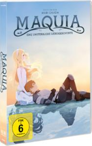 Maquia Review DVD Cover