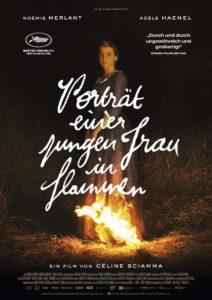PORTRÄT EINER JUNGEN FRAU IN FLAMMEN News Poster