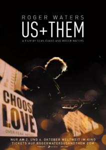 Roger Waters us Them News Plakat