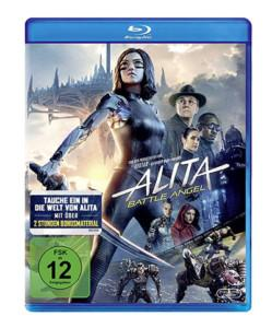Alita Review BD Cover