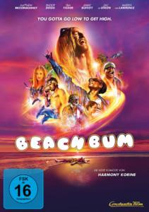 Beach Bum Review DVD Cover