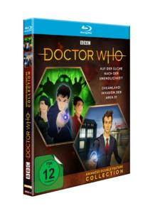 Doctor Who Animated BD Cocer