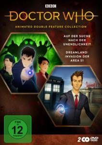 Doctor Who Animated DVD Cover