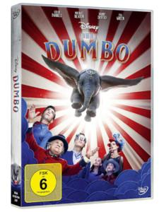 Dumbo Review DVD Cover