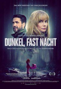 Dunkel fast Nacht News Plakat
