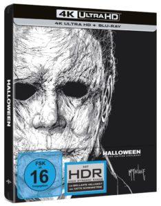 Halloween 4K Steelbook Cover