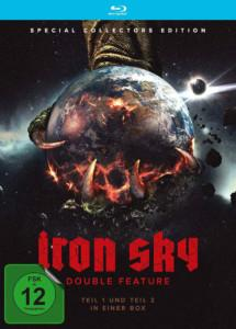 Iron Sky Double Feature BD Cover