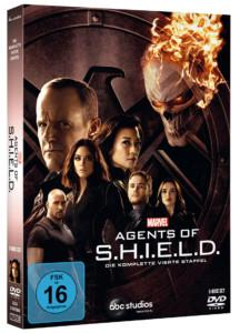 Agents of Shield Staffel 4 DVD Cover