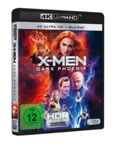 Dark Phoenix UHD Cover