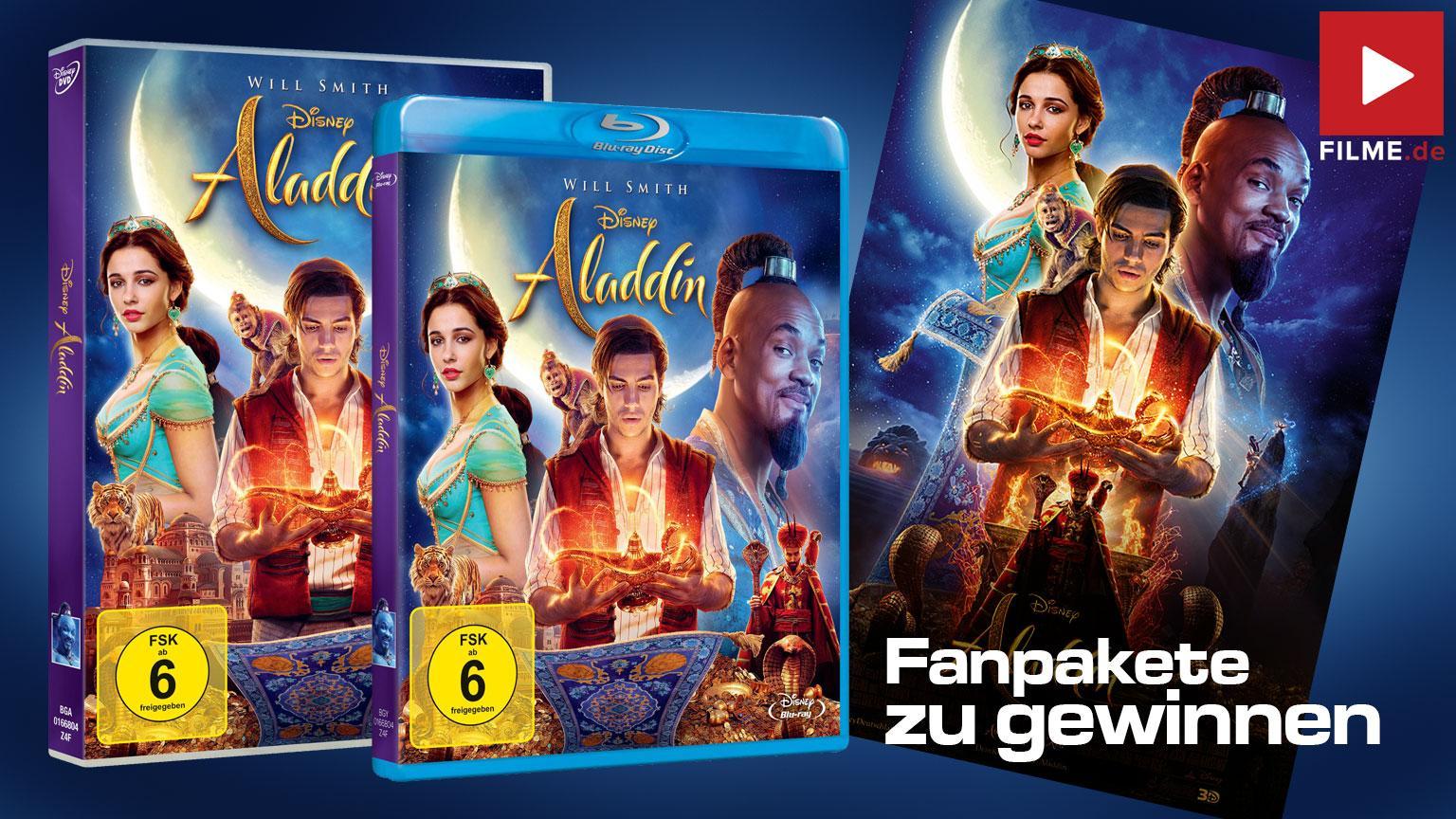 Aladdin Gewinnspiel Artikelbild