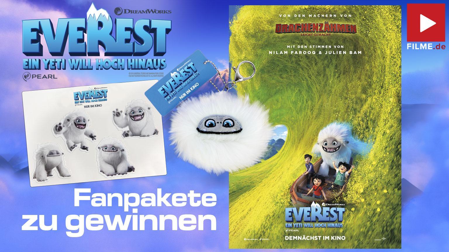 Everest - Ein Yeti will hoch hinaus Gewinnspiel Artikelbild