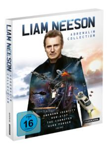 Liam Neeson Adrenalin Collection BD Cover