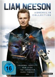Liam Neeson Adrenalin Collection DVD Cover