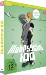 Mob Psycho Vol 1 Review BD Cover